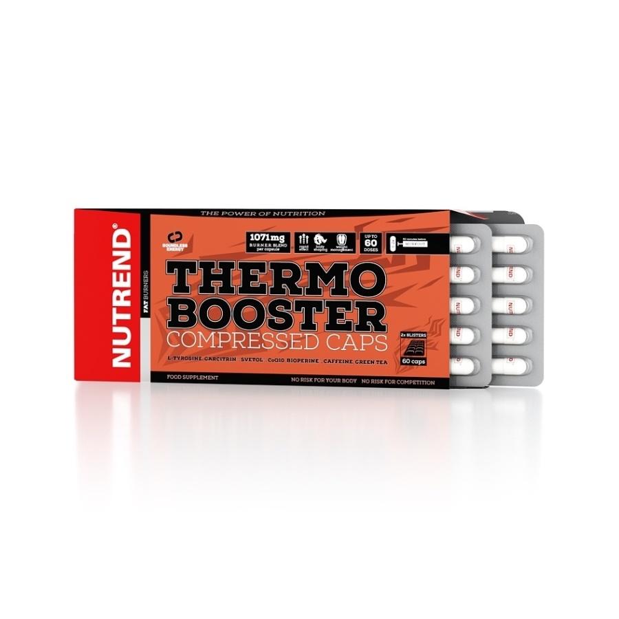 Spaľovač Nutrend Thermobooster Compressed Caps 60 kapsúl