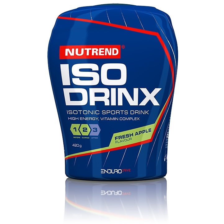 Isodrinx Nutrend 420 g zelené jablko