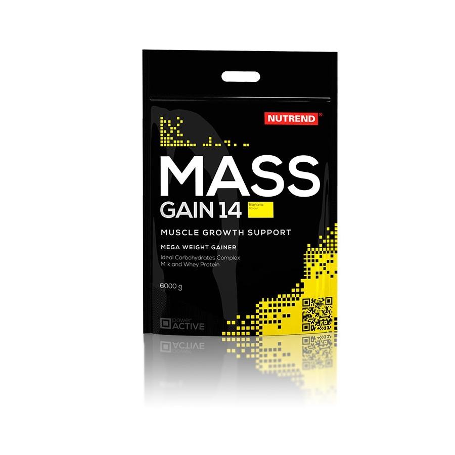 Práškový koncentrát Nutrend Mass Gain 14 6000g vanilka