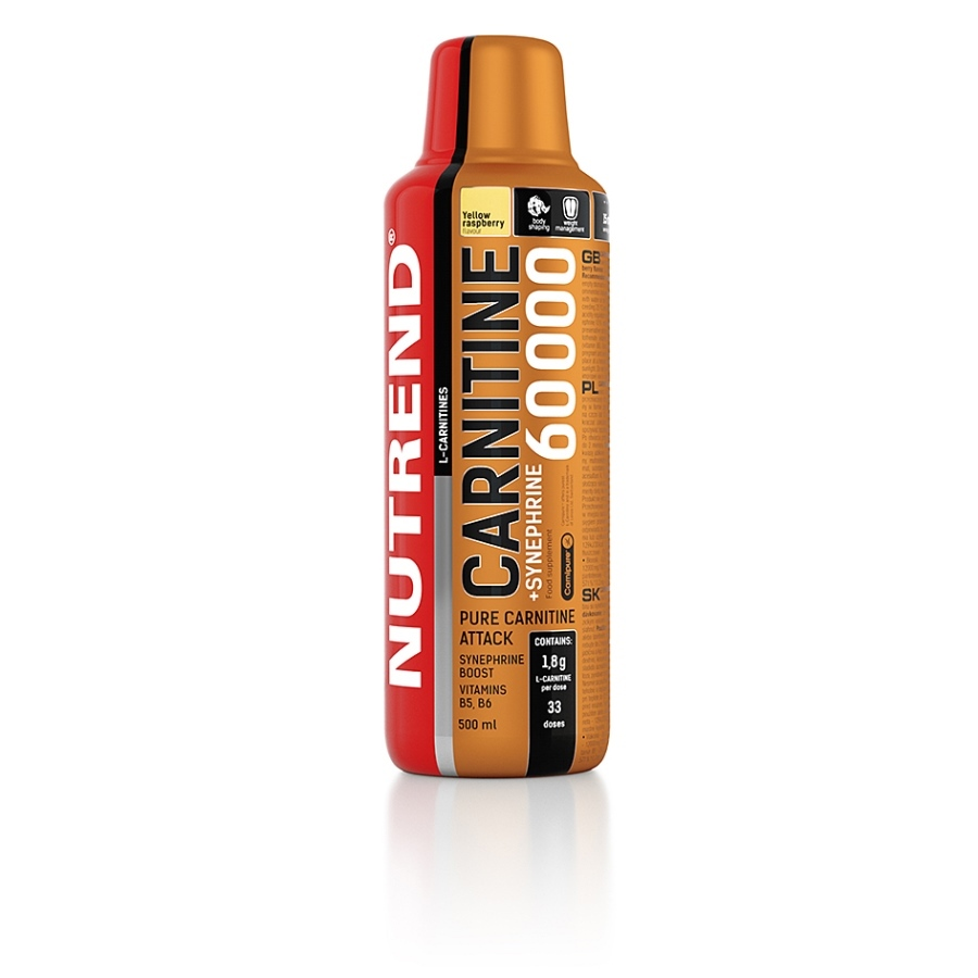 Karnitin Nutrend Carnitine 60000 + Synephrine 500 ml