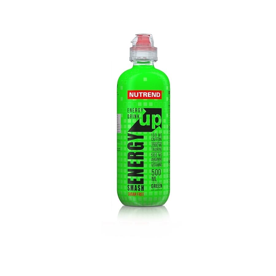Energetický nápoj Nutrend Smash Energy Up 500 ml green (bez cukru)