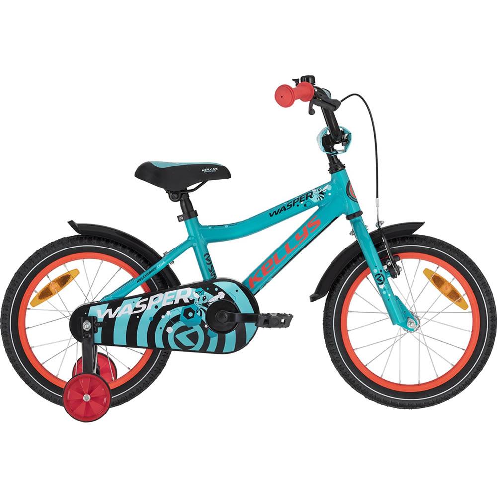 "Detský bicykel KELLYS WASPER 16"" - model 2021 blue - Záruka 10 rokov"