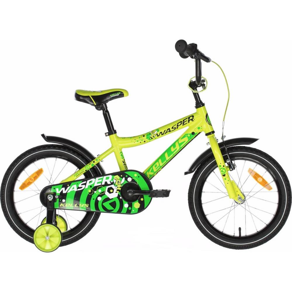 "Detský bicykel KELLYS WASPER 16"" - model 2021 Yellow - Záruka 10 rokov"
