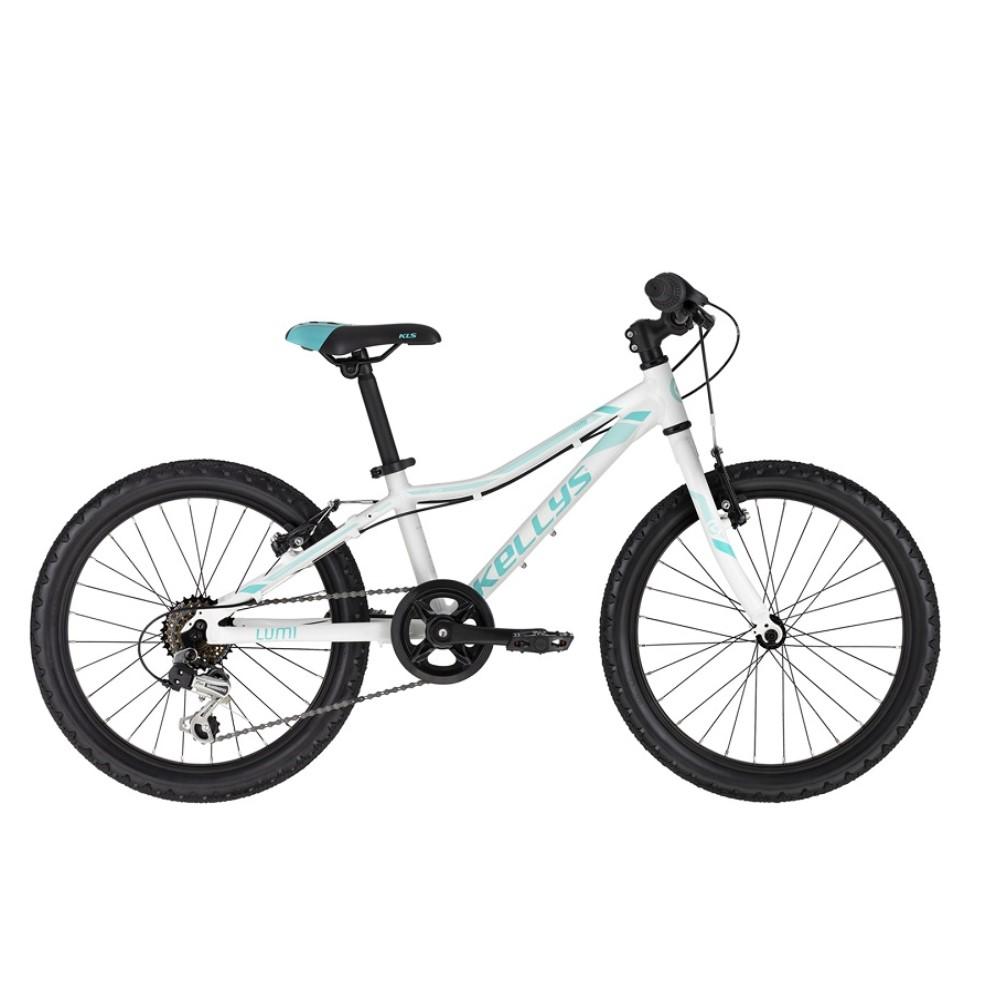 """Detský bicykel KELLYS LUMI 30 20"""" - model 2021 White - Záruka 10 rokov"""