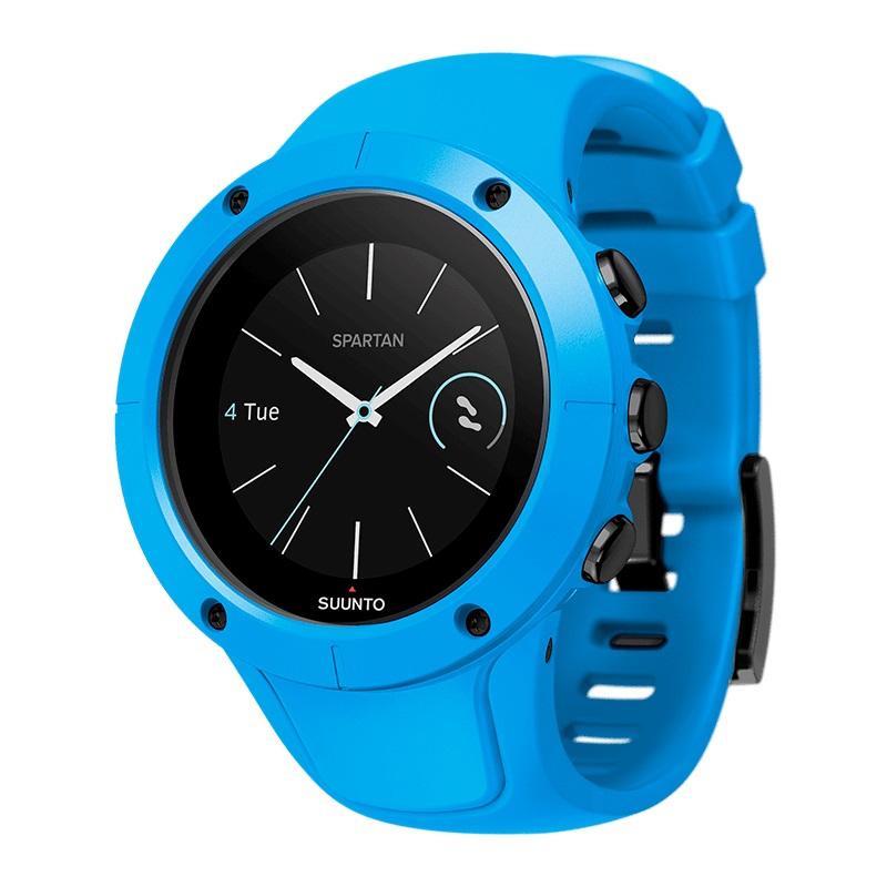 Športové hodinky SUUNTO Spartan Trainer Wrist HR Blue