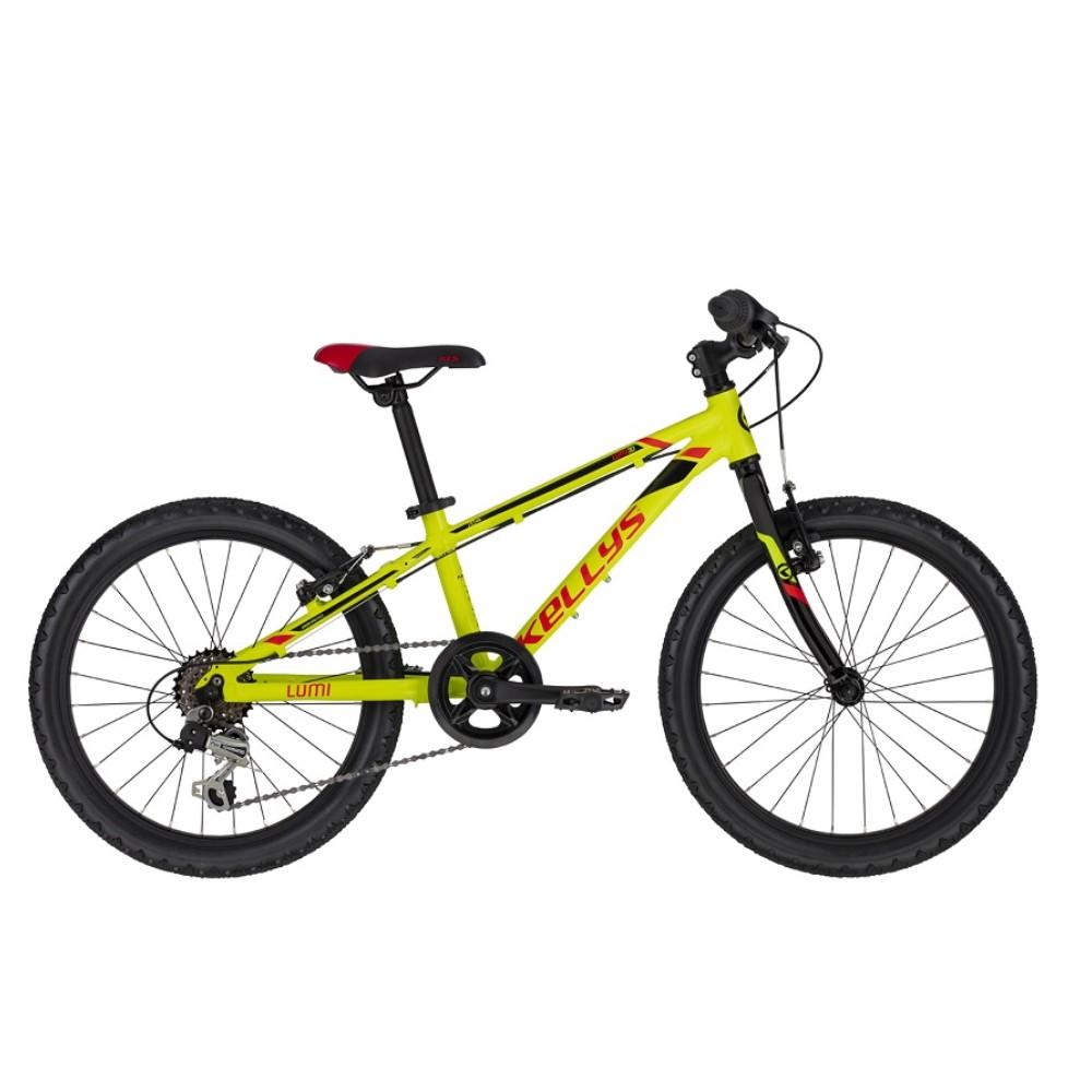"Detský bicykel KELLYS LUMI 30 20"" - model 2021 Neon Yellow - Záruka 10 rokov"