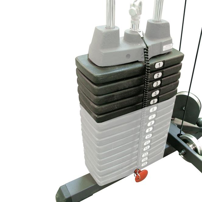 Doplnkové závažie Body-Solid SP50 22,5 kg