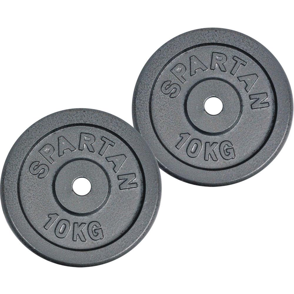Závažie Spartan 2 x 10 kg oceľové