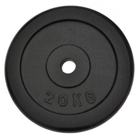 Závažie Spartan 2x20kg oceľové