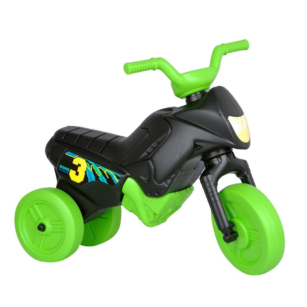 Odrážadlo Enduro Mini čierno-zelená
