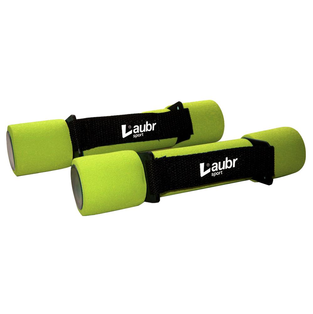 Jednoručky na aerobic Laubr 2x1kg