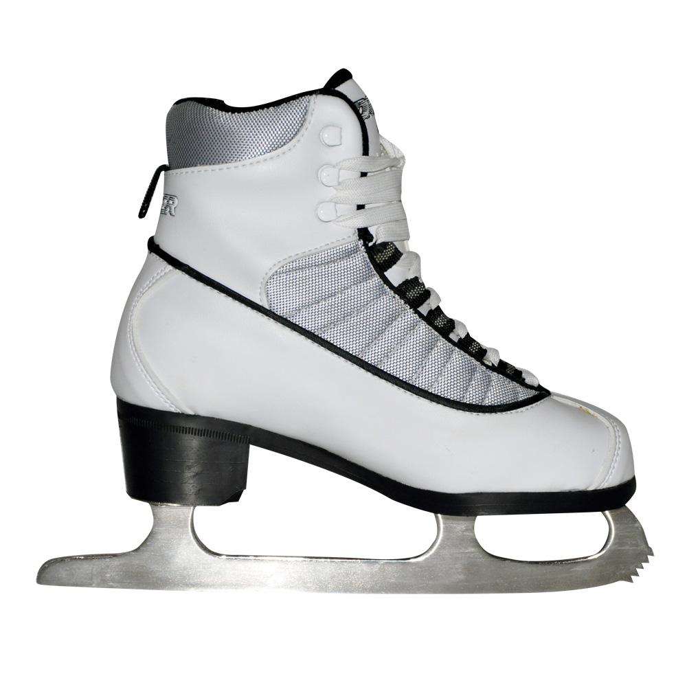 Dámske ľadové korčule WORKER Silver