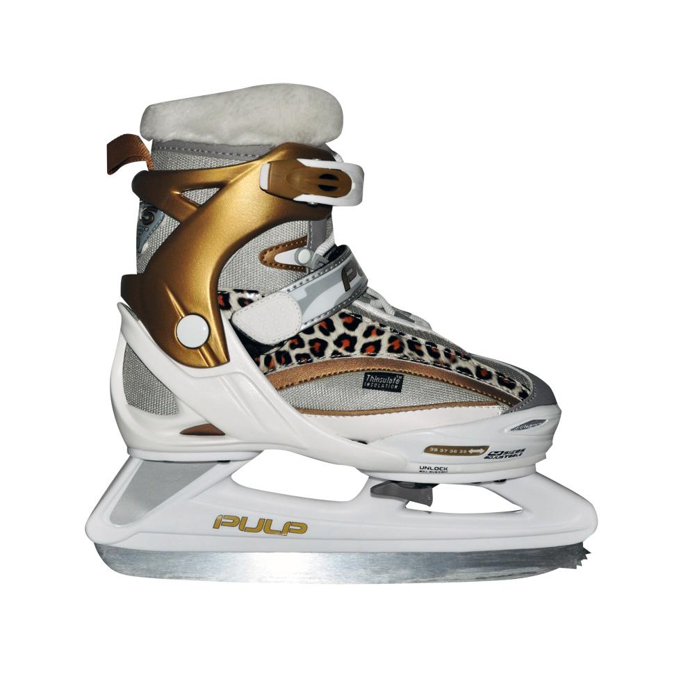 Zimné korčule Spartan Kim zlatá - S (29-32)
