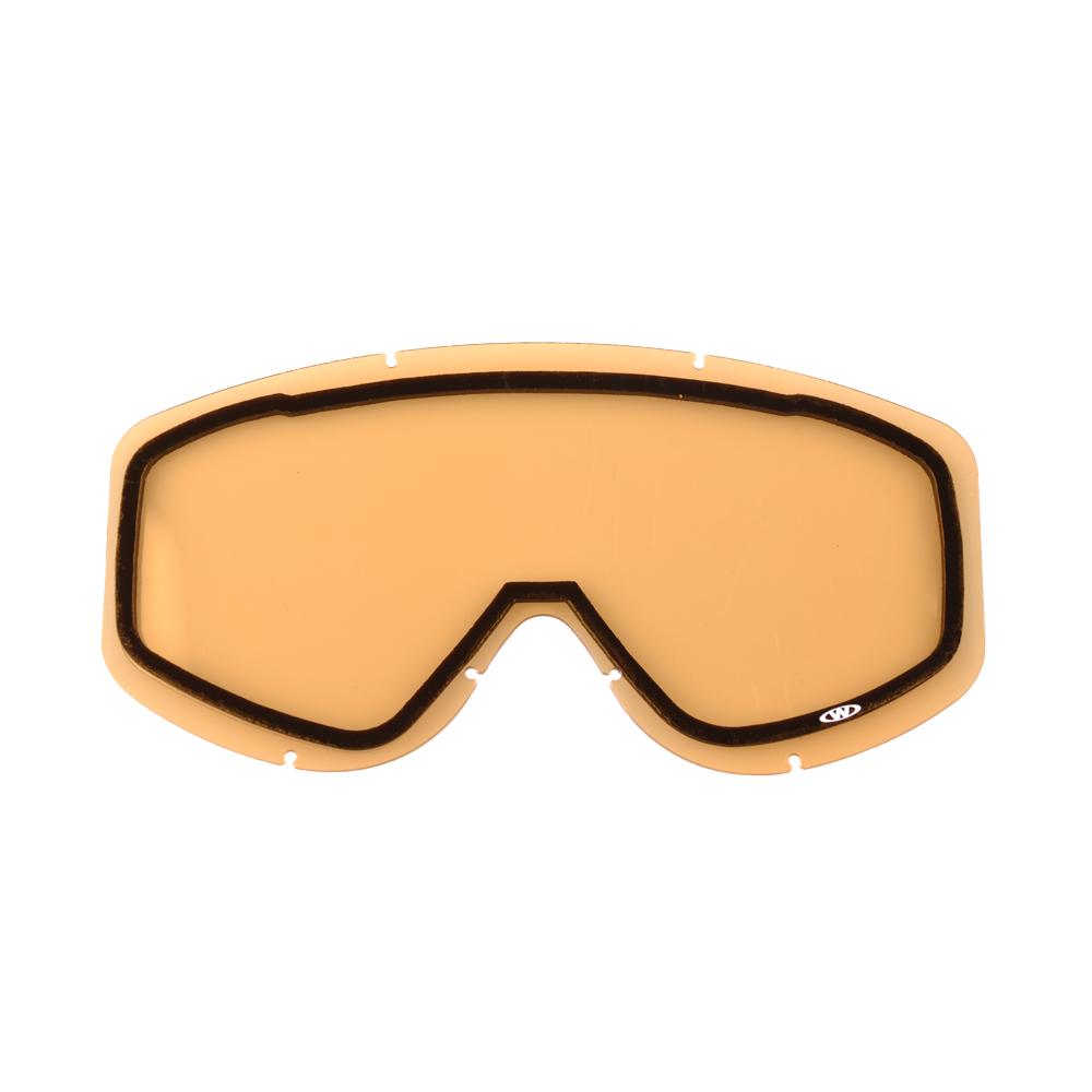 Náhradné sklo k okuliarom WORKER Cooper žlté