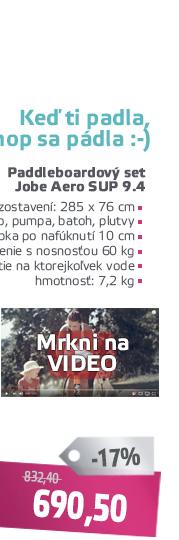 SUP Paddleboard Jobe Aero SUP 9.4 - VIDEO