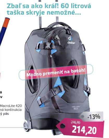 Cestovná taška DEUTER Helion 60 2016 - AKCIA