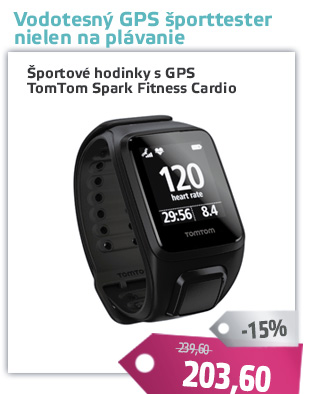 GPS hodinky TomTom Spark Fitness Cardio