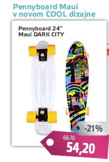 Pennyboard Maui DARK CITY 24