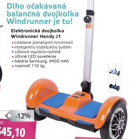 Elektrická dvojkolka Windrunner Handy J1