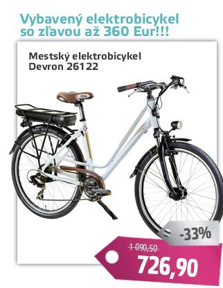 Mestský elektrobicykel Devron 26122 - AKCIA - D