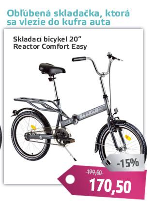Skladací bicykel Reactor Comfort Easy 20
