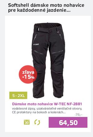 Dámske softshell moto nohavice W-TEC NF-2881