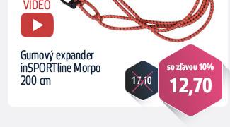 Gumový expander inSPORTLine Morpo 200 cm - VIDEO