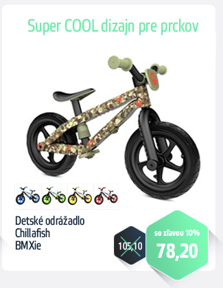 Detské odrážadlo Chillafish BMXie