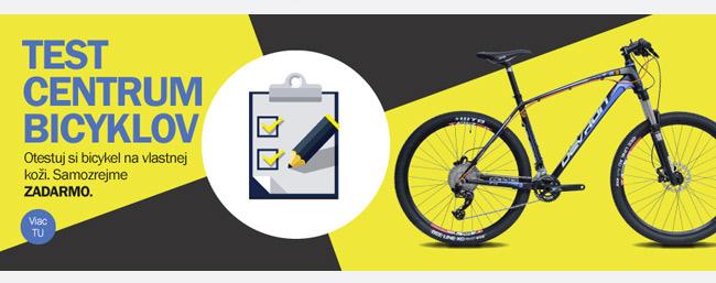 Otestuj bicykel alebo elektrobicykel zadarmo!