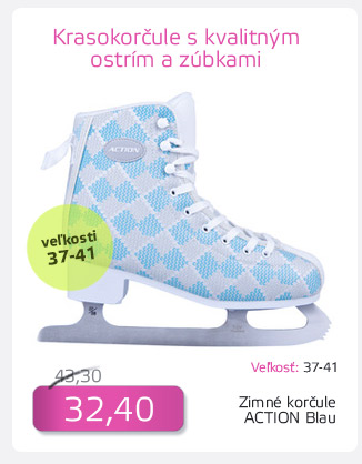 Dámske zimné korčule Action Blau - AKCIA