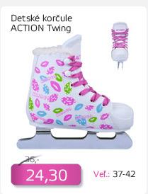 Detské zimné korčule Action Twing - AKCIA