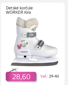 Detské zimné korčule WORKER Kira