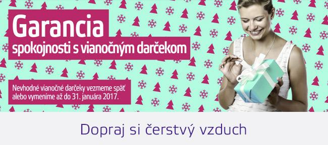 Vianočné darčeky cez internet s VIP garanciou 90 dní