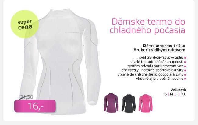 Dámske termo tričko Brubeck THERMO s dlhým rukávom - AKCIA - D