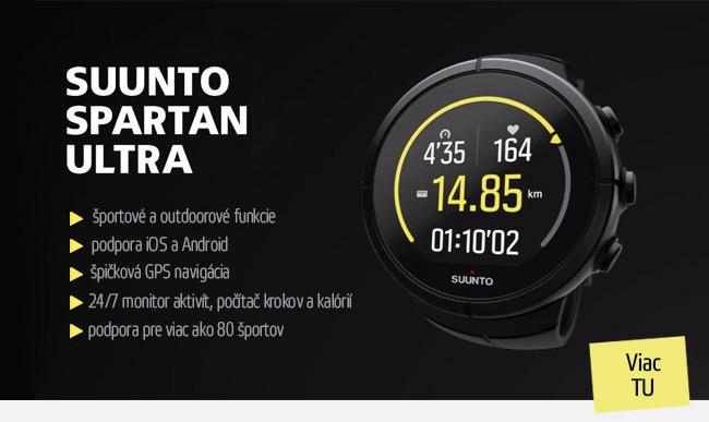 Športové hodinky SUUNTO Spartan Ultra Titanium All Black HR