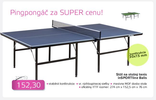 Stôl na stolný tenis inSPORTline Balis - AKCIA