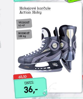 Hokejové korčule Action Hoky - AKCIA