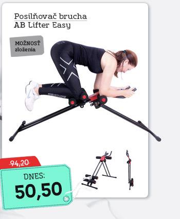 Posilňovač brušných svalov inSPORTline Ab Lifter Easy - AKCIA