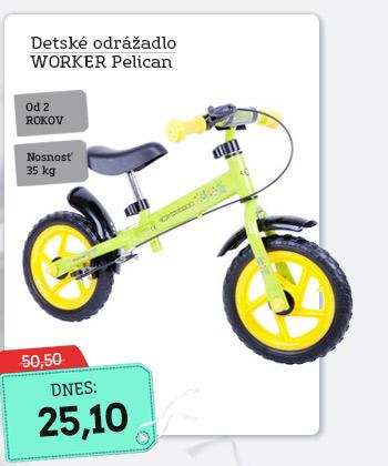 Odrážadlo WORKER Pelican - AKCIA