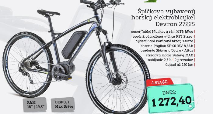 Horský elektrobicykel Devron 27225 - model 2016 - AKCIA